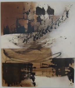 Maleri af Lizette Rosager fra udstilling i Banehuset, maj-juni 2013