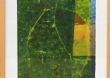 Mette Mailund Strong: Short Stories. Akryl på akvarelpapir, 40 x 40 cm.